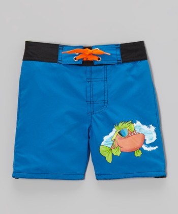 Royal Kool Fish Swim Trunks - Infant, Toddler & Boys
