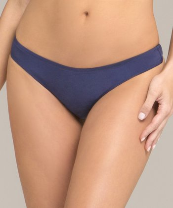 Winter Navy  Body Veil Thong - Women & Plus