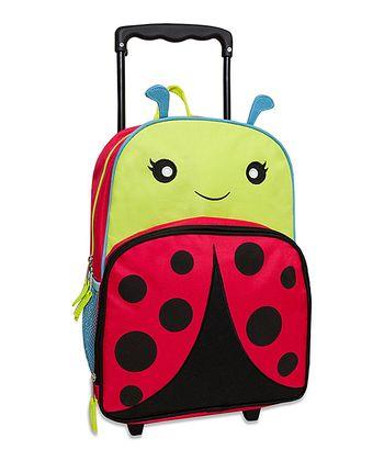 Ladybug Rolling Backpack