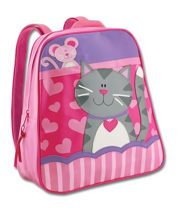 Pink & Purple Cat Go-Go Backpack