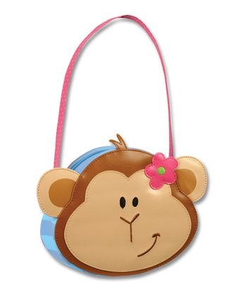 Brown Monkey Go-Go Purse