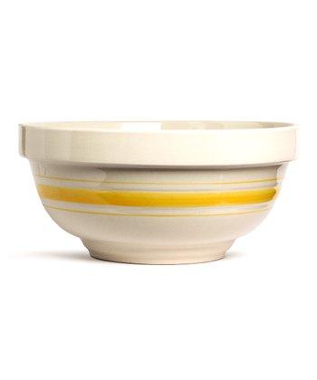 Yellow Stripe 4-Qt. Mixing Bowl