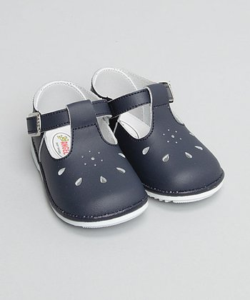 Navy T-Strap Mary Jane - Infant & Toddler