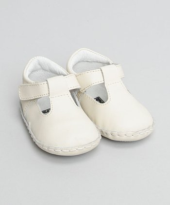 Beige T-Strap Shoe - Infant & Toddler