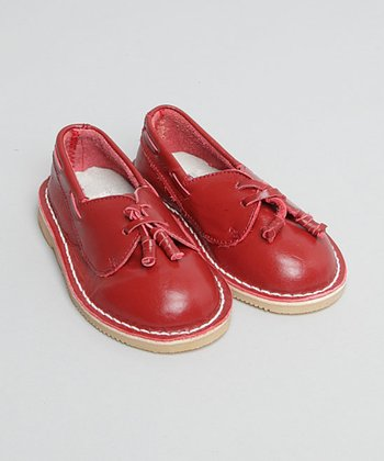 Red Slip-On Shoe