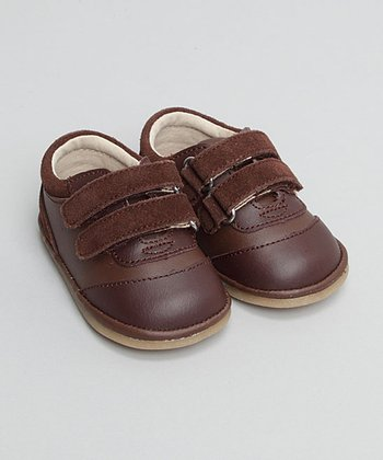 Brown Double-Strap Oxford