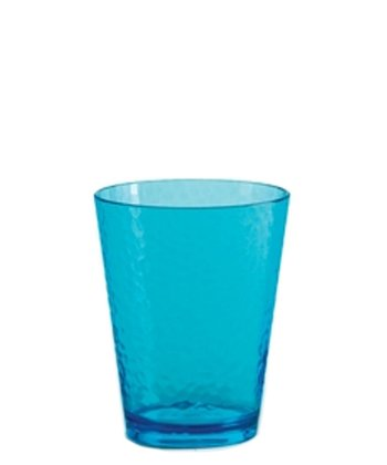 Teal Hammered 16-Oz. Tumbler - Set of Six