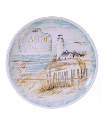 Beach Cottage Round 16'' Platter