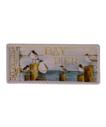 Beach Cottage Rectangle 11'' Tray