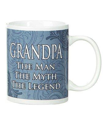 GANZ Blue 'Grandpa' Mug