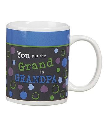 GANZ Blue 'Grand in Grandpa' Mug