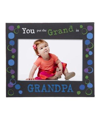 GANZ Blue 'Grand in Grandpa' Frame