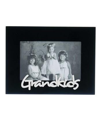 GANZ Black & White 'Grandkids' Frame