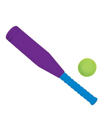 Purple & Blue Fat Bat & Ball