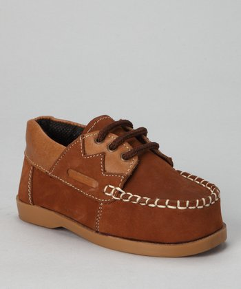 Brown Laced Loafer