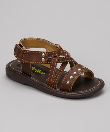 Brown Stud Sandal