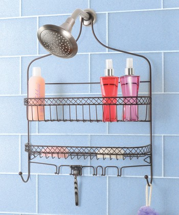 Bronze Extra-Wide Shower Caddy