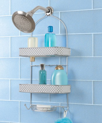 Chrome Silver Shower Caddy