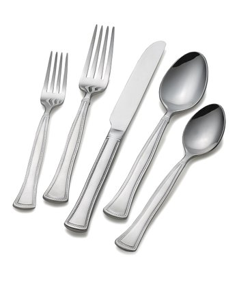 Chadwick Bead 20-Piece Flatware Set