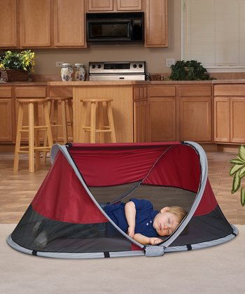KidCo Cranberry PeaPod Travel Bed