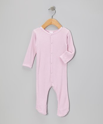 Spicy Pink Thermal Footie - Infant