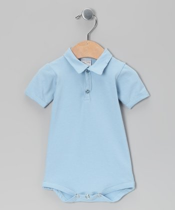 Blue Polo Bodysuit