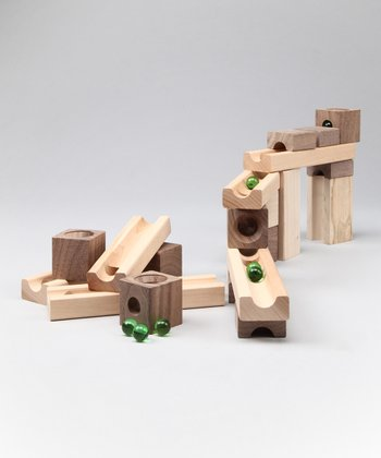 Blocks & Marbles Set