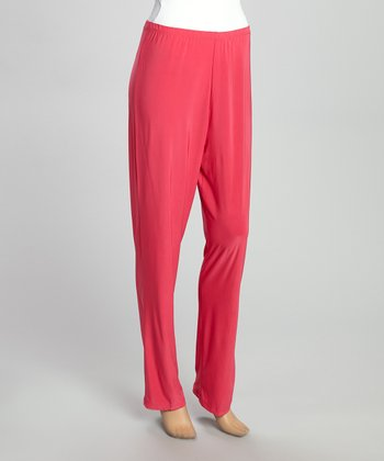 Fuchsia Harem Pants - Women & Plus