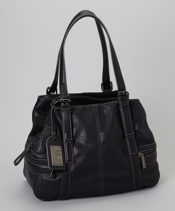 Black Mercer Stitch Lamb Tote