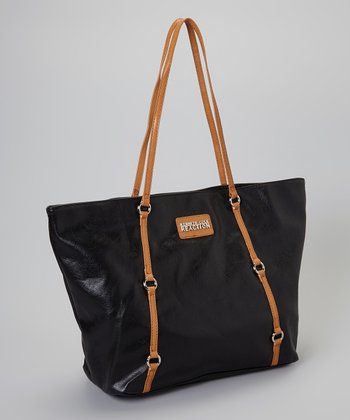 Black & Tan Ring Tote