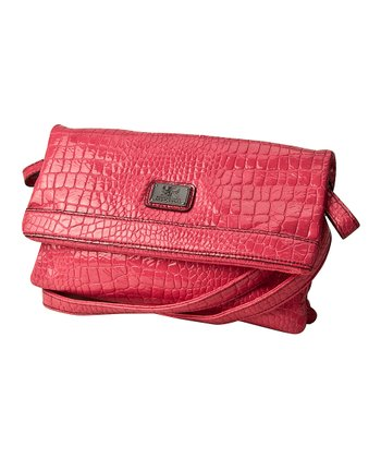 Pink Crocodile Mercer Crossbody