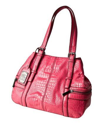 Pink Crocodile Mercer Tote