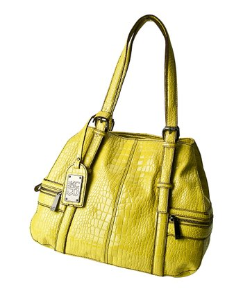 Yellow Crocodile Mercer Tote