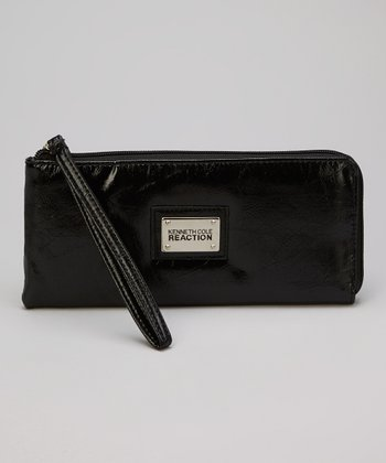 Black Sidekick Wristlet