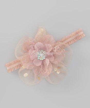 Beige Bella Headband