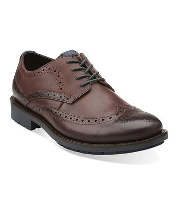 Chestnut Garnet Lace-Up Shoe