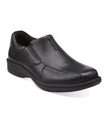 Black Wader Twin Slip-On Shoe