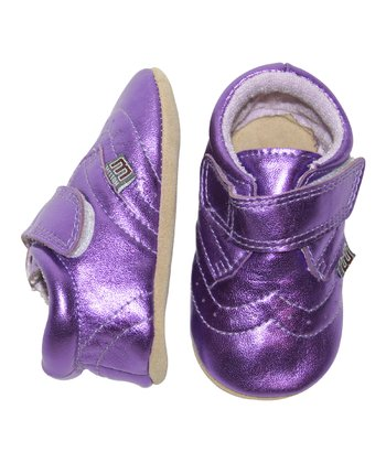Purple Strap Shoe