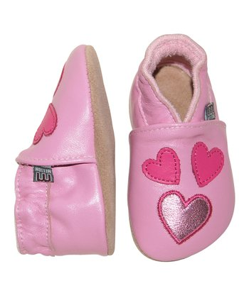 Pink Summer Heart Booties