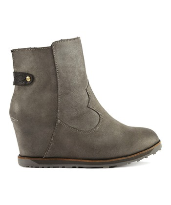 Charcoal Suede Gembrook Boot - Women