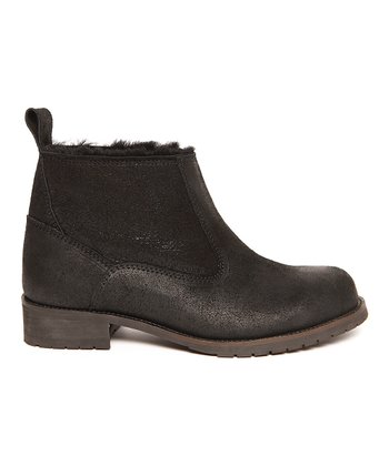 Black Isis Ankle Boot - Women