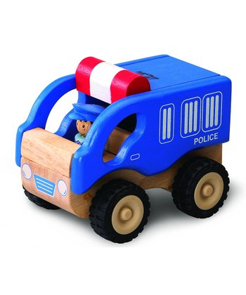 Mini Police Car Toy