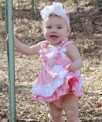 Pink Bow Tunic & Diaper Cover - Infant