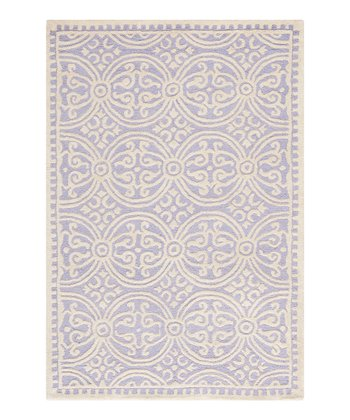 Lavender & Ivory Cambridge Elsa Rug