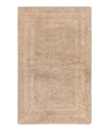 Craft Brown Double Border Bath Rug