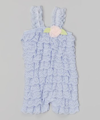 Baby Essentials Lilac Lace Romper