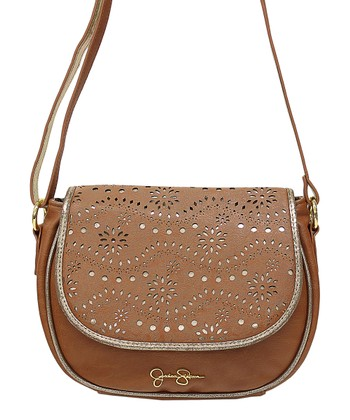 Brown True Romance Crossbody Bag