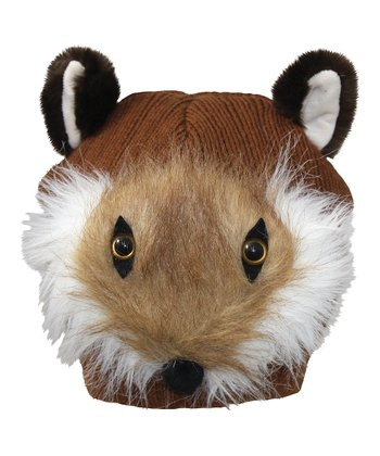 Brown Fox Beanie
