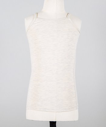 Heather Gray Mini Camisole - Toddler & Girls