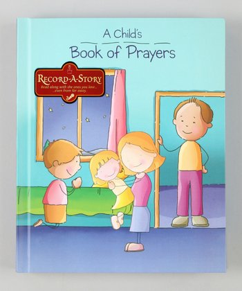 A Child's Book of Prayers Record-a-Story Hardcover
